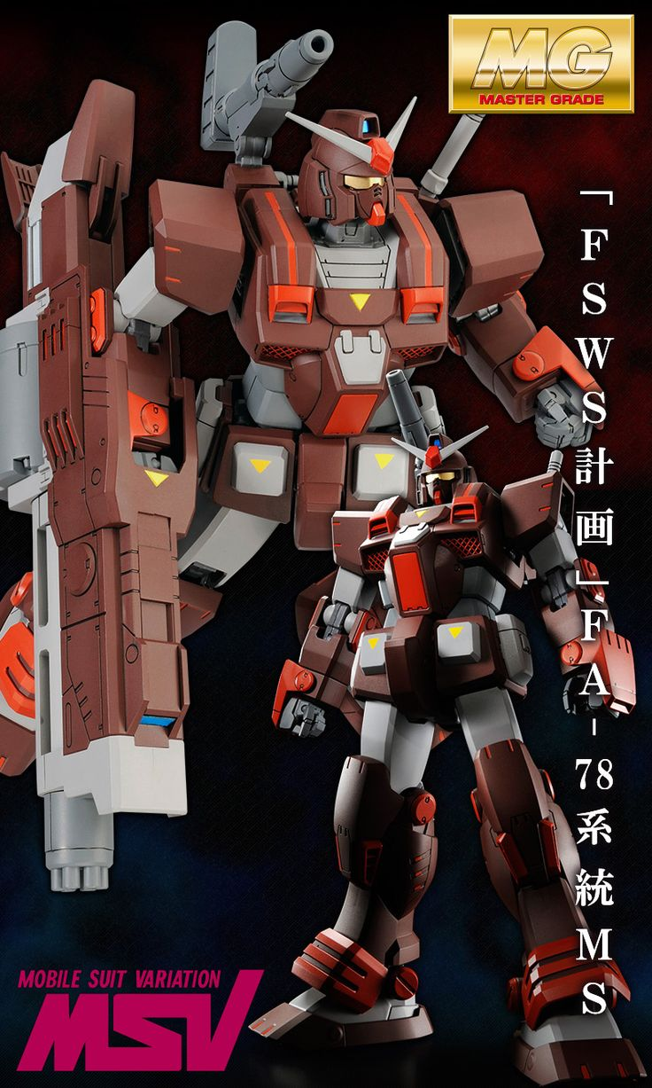 GUNDAM GUY: P-Bandai Exclusive: MG 1/100 FA-78-2 Heavy Gundam - Official Promo Images