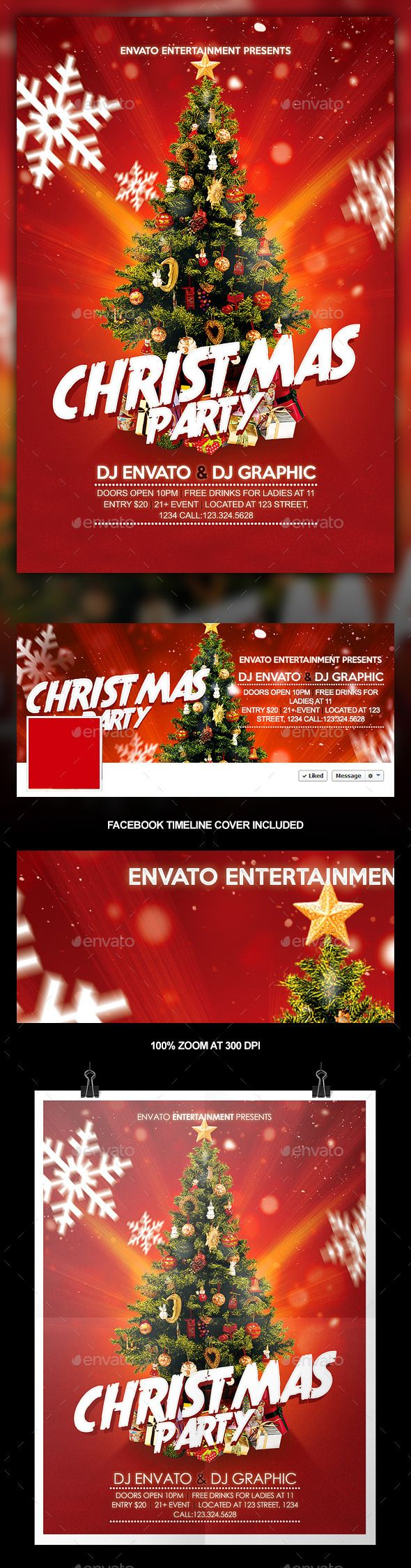 best images about party flyer templates christmas party flyer