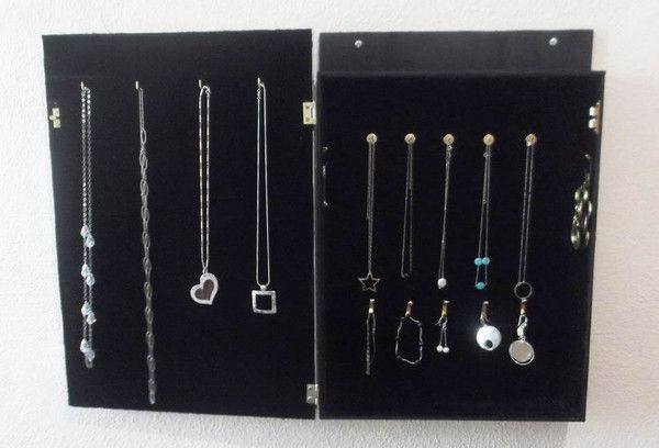DIY: tuto boîte à bijoux en bois avec miroir