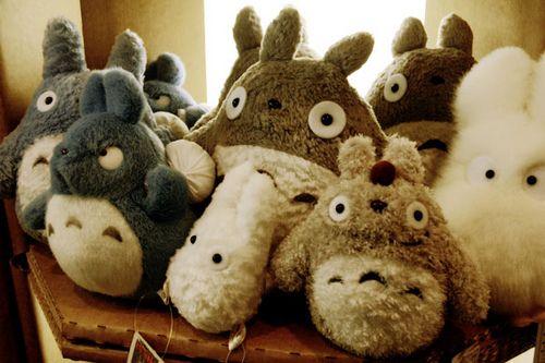 Totoro!Stuffed Toys, Japan Plushies, Japan Kawaii, Hiyao Miyazaki, Totoro Plushies, Kawaii Stuff, Kawaii Animal, Stuffed Animal, Studios Ghibli
