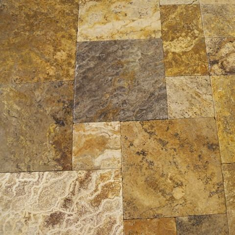 Travertine Patio | Patio Materials  How Much Does A Paver Patio Cost?  Pattern