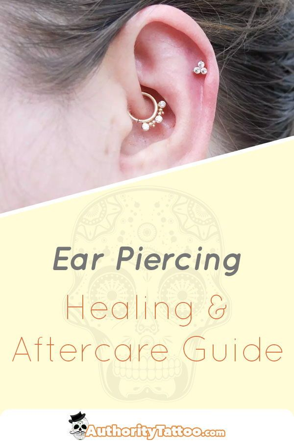 8931ded3c We explain every little detail about the ear piercing healing process,  including everything you need to know for your ear piercing to heal  perfectly.