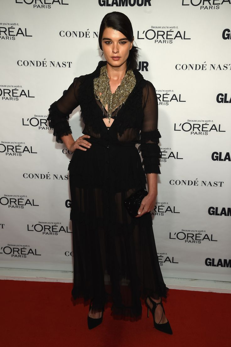 Crystal Renn aux Glamour Women of the Year Awards