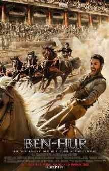 The epic story of Judah Ben-Hur, a prince falsely accused of treason by his adopted brother, an officer in the Roman army. After years at sea, Judah returns to his homeland to seek revenge, but finds redemption.  Released 12/31/16  (124 min)