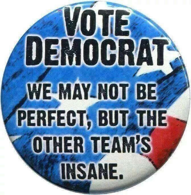Insane, Greedy, Liars, Crooks and Bigots.USED