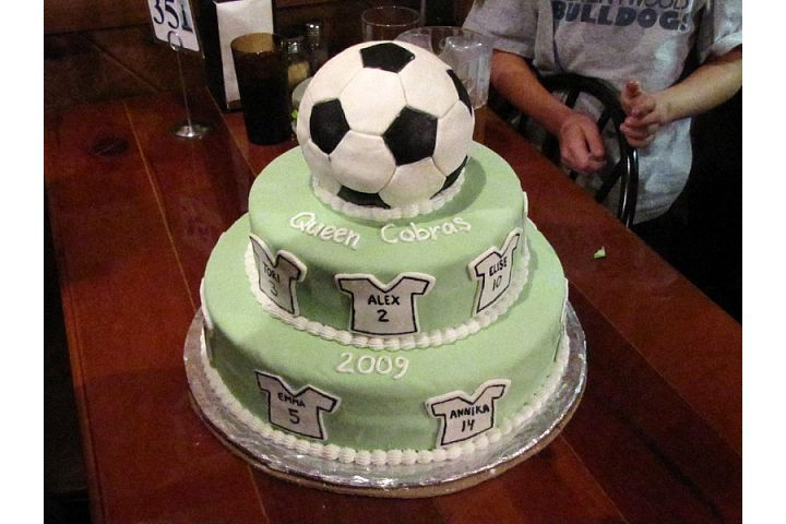 Cake Decorating Team Names : 28 best images about Soccer Cakes on Pinterest