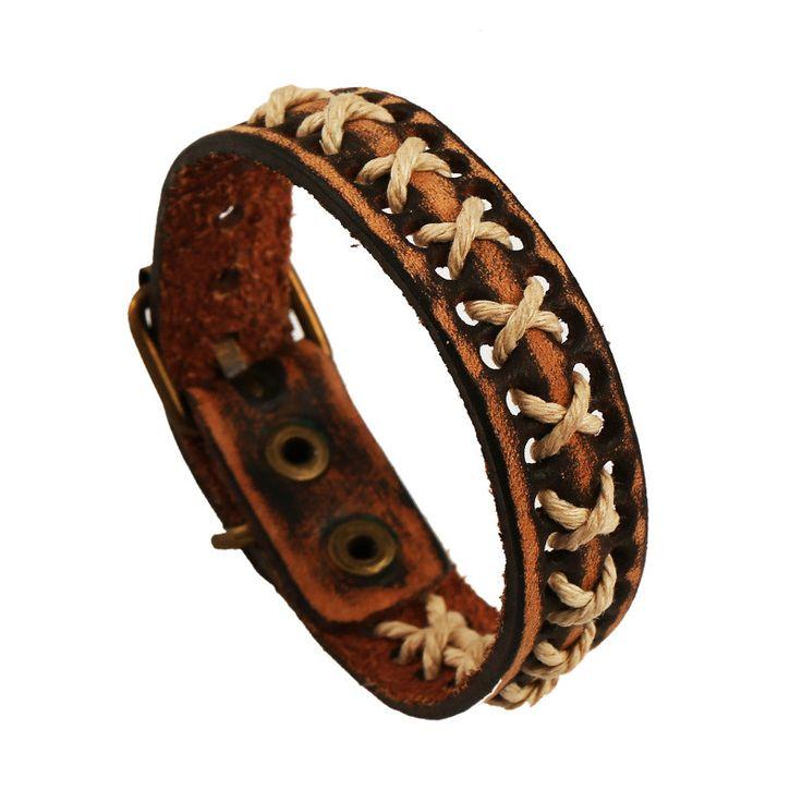 Retro Woven Hermp Rope Bracelet
