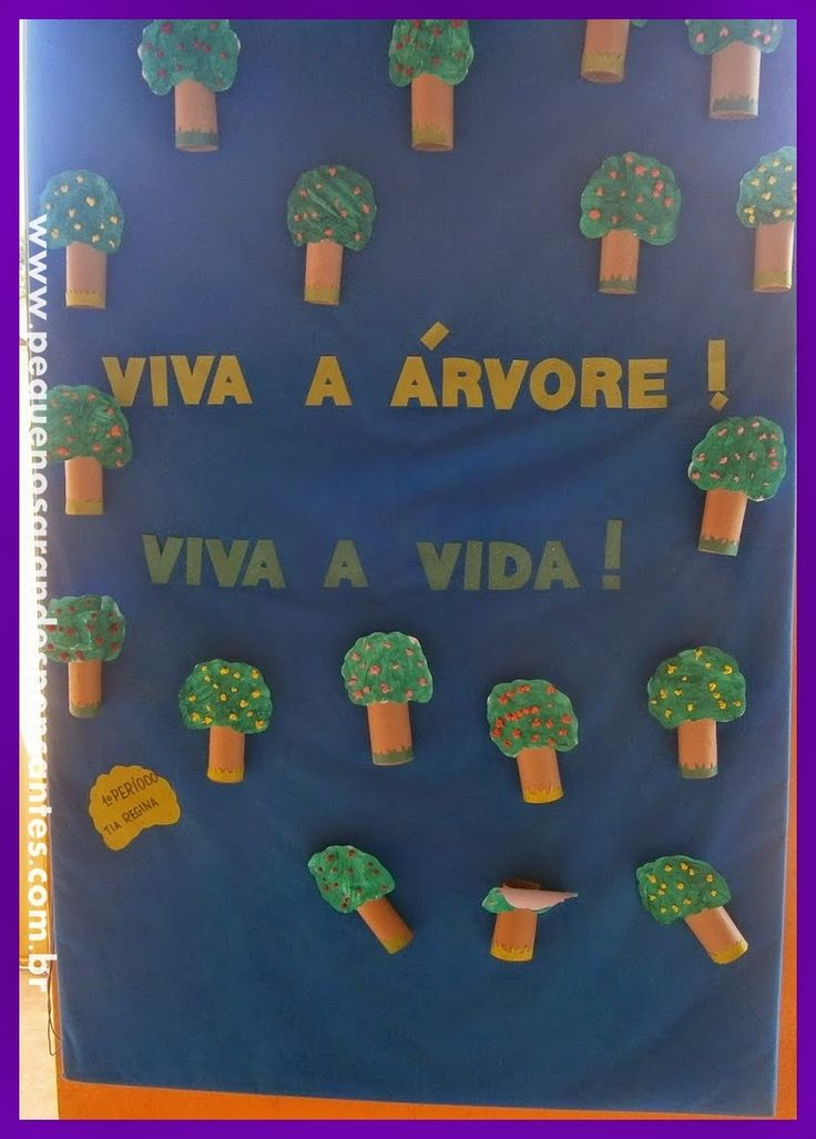 Pequenos Grandes Pensantes.: Sugestão de Atividade para o Dia da Árvore