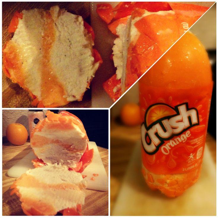 how to make an orange creamsicle crush