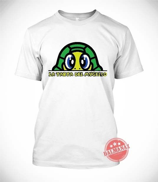 Valentino Rossi La Tarta De Mugello Yamaha MotoGP T-Shirt All Size tee