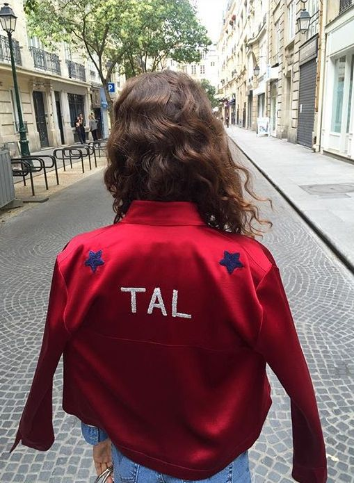 Côme x Csao personalized hand embroidered jacket