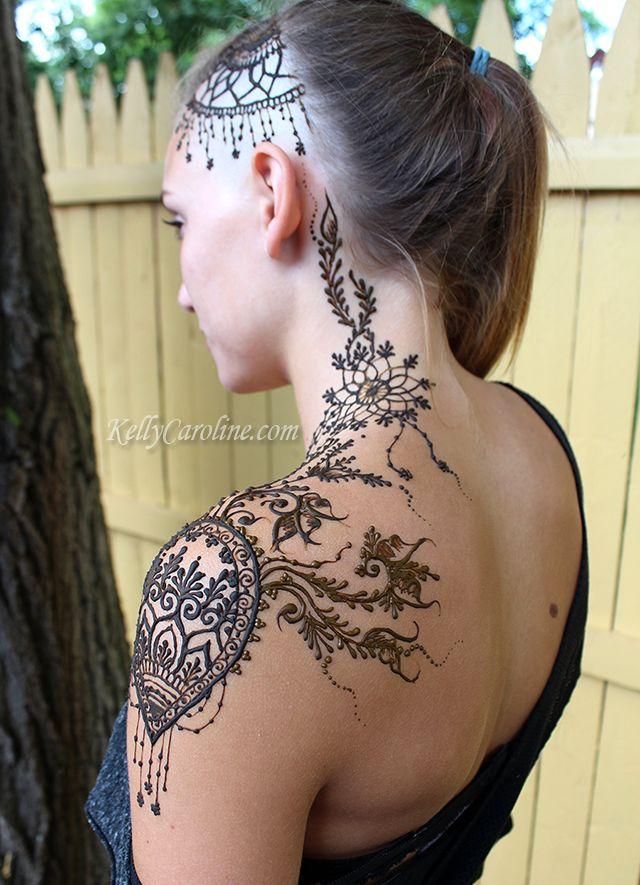henna crown, mehndi, henna, kelly caroline, michigan henna artist