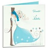 invitaciones de boda originales color turquesa invitaciones de boda Barcelona nuvis casaments
