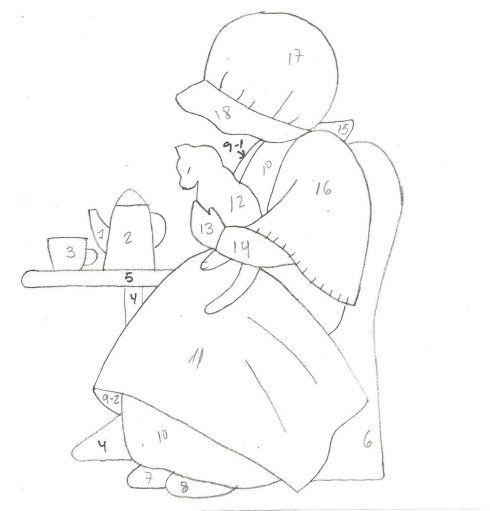 [转载]苏姑娘壁饰图纸一套