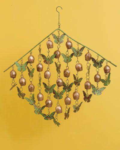 Acabado-de-cobre-Mariposas-Y-Campanas-carillon-de-viento-jardin-piscina-Arte-Decoracion-18-X-20