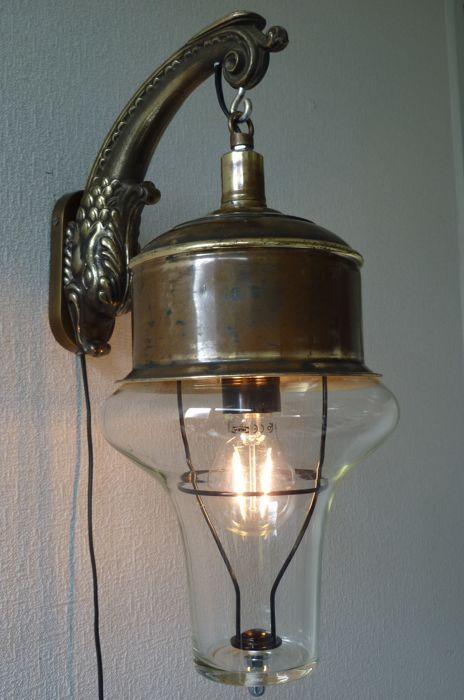 Online veilinghuis Catawiki: K.V.N Steampunk - Hall lamp of the submarine Nautilus