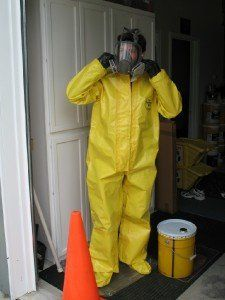 hazmat suit for Breaking Bad costumes