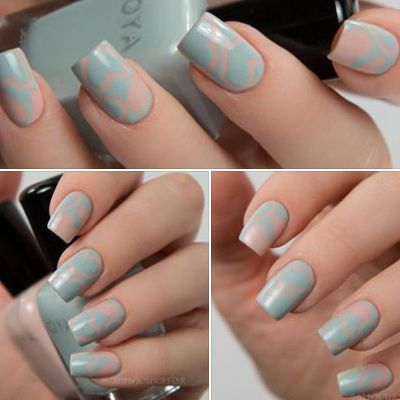 Zoya April-Lake !!!!!! Zoya Whispers Collection Valentine's Nail Art