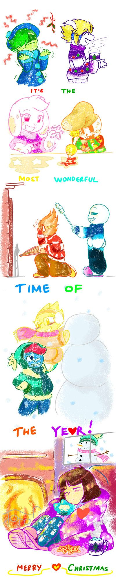 QT: IT'S THE MOST WONDERFUL 'TIME' OF THE YEAR! by perfectshadow06.deviantart.com on @DeviantArt