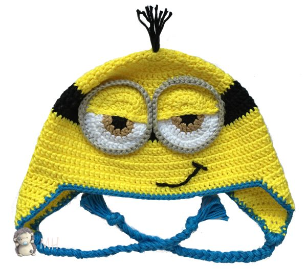 Gorro Minion a crochet, vídeo tutorial