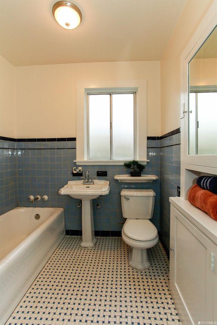 Best 25 1930s bathroom ideas on pinterest subway oil for 1930 bathroom tile ideas