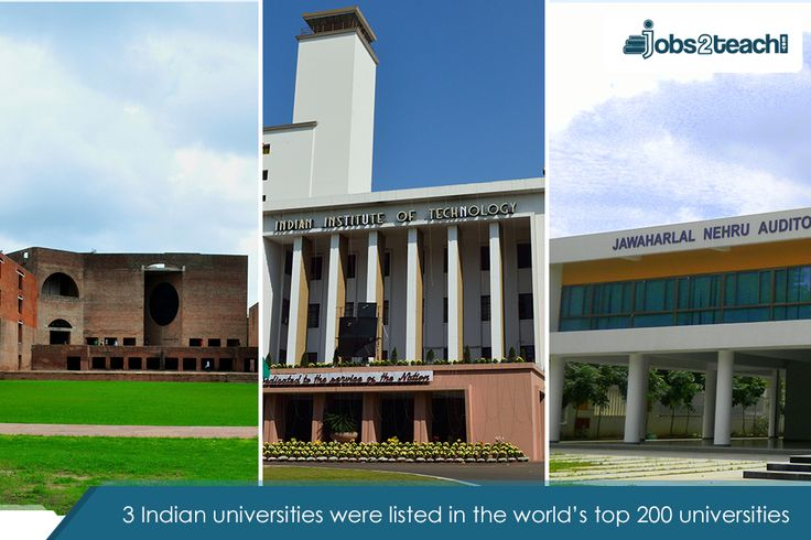 Three Indian universities were listed by Times in the world's top 200 universities. These universities were - Indian Institutes of Technology, Indian Institutes of Management, and Jawaharlal Nehru University.  #Education#Universities#IndianEducation#TopUniversities