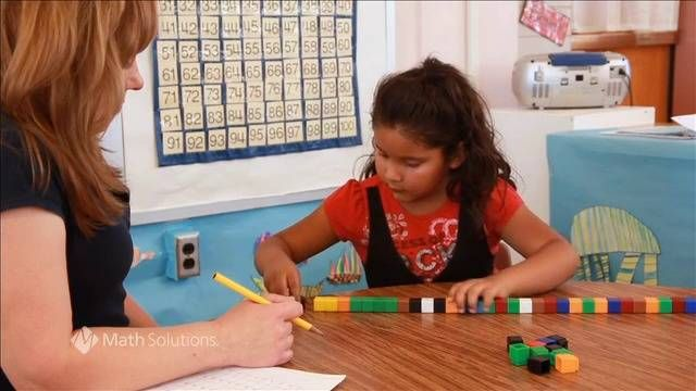 Watch an individual counting assessment with author Dana Islas and one of her students. Find resources and expert advice to improve math discourse in your classroom at mathsolutions.com/MathTalk.