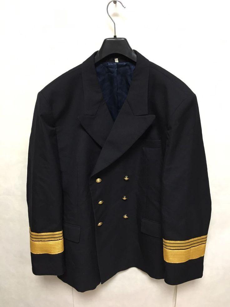 Bundeswehr Marine Sakko Gr.52 Admiral Jacke Uniform Kostüm Kapitän Karneval AX1