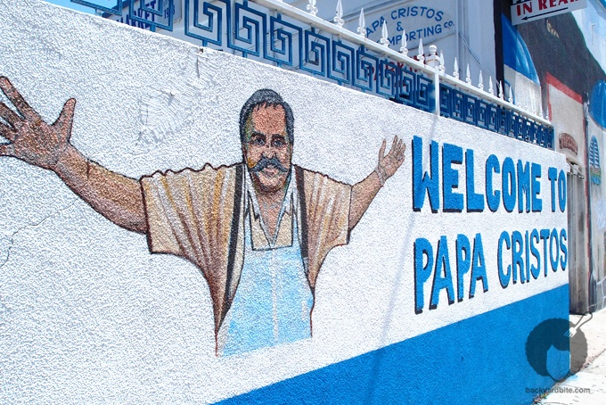 Papa Cristo's greek restaurant, Los Angeles The best Greek Food in LA! The Raulo has fallen in love with this place :)