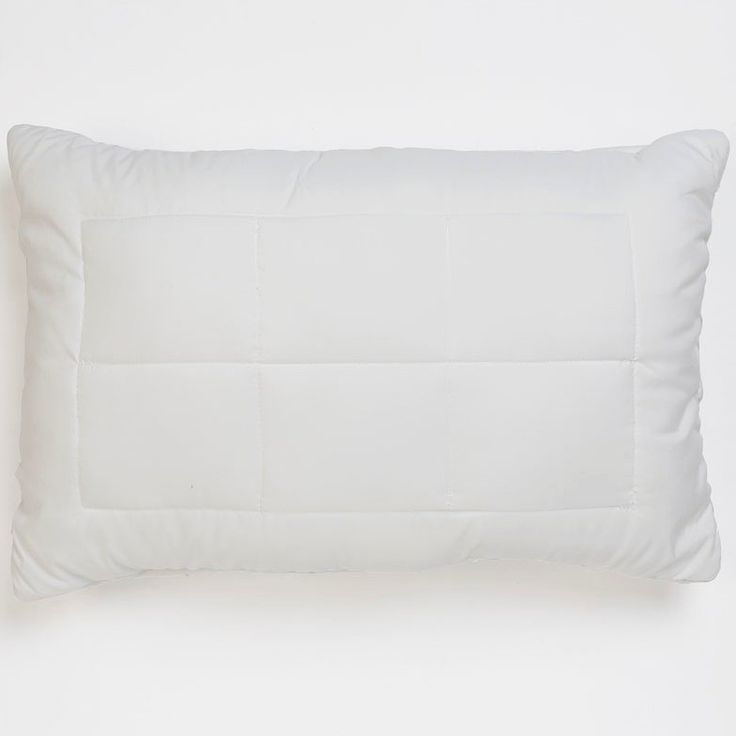 Supreme Pillow - A full size luxury pillow with super soft microfibre quilted cover for extra comfort and support.Technically advanced fibre curls cluster and softly cradle your head.
