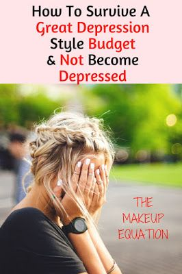 The Makeup Equation: How To Survive A Great Depression Budget Without Getting Depressed