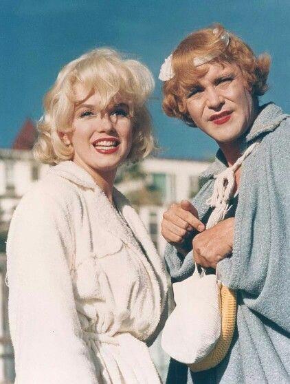Marylin Monroe si Jack Lemmon
