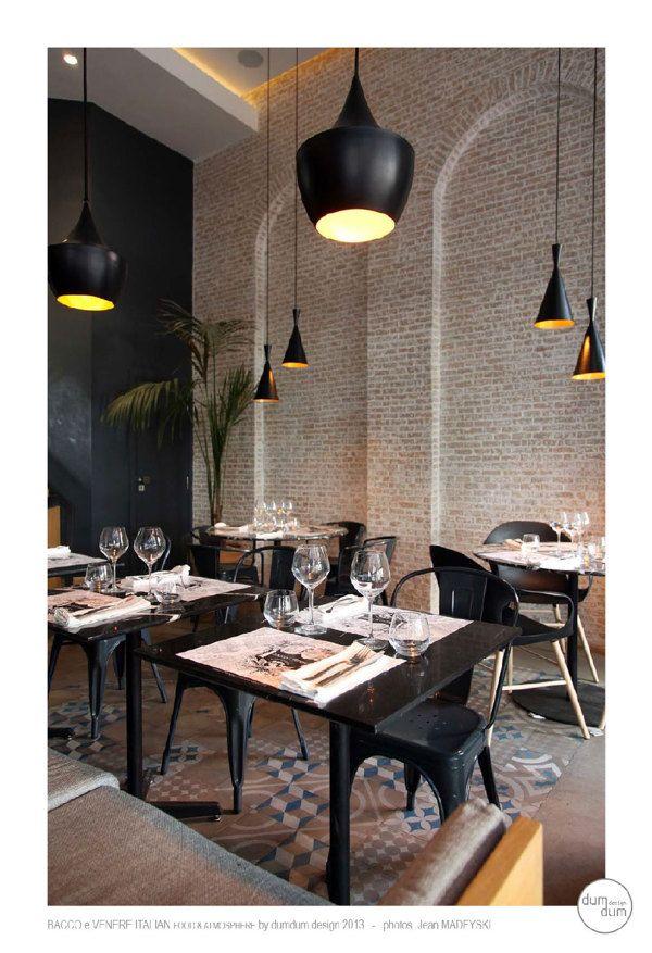 Les 16 meilleures images du tableau restaurant bacco e for Conception cuisine casablanca