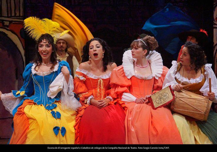 Teatro. El arrogante español o caballero de milagro