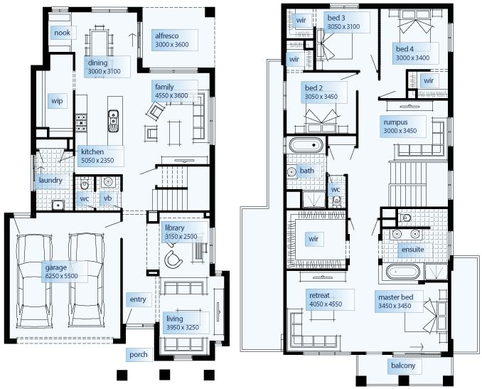 Avalon 3512 house plans pinterest town house and house for Simmons homes floor plans