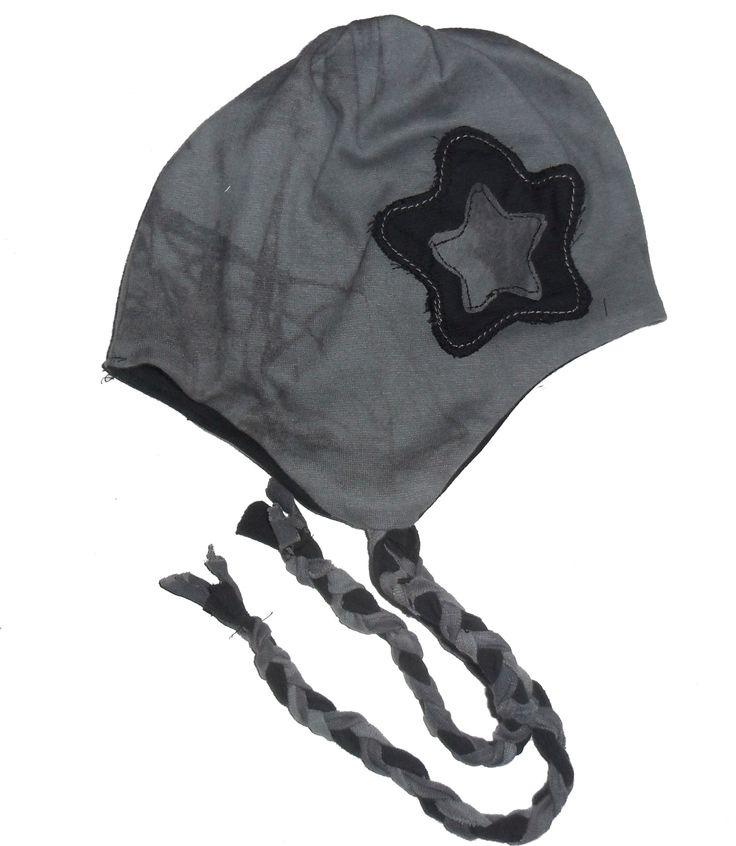 čepice se zavazovací šňůrkou