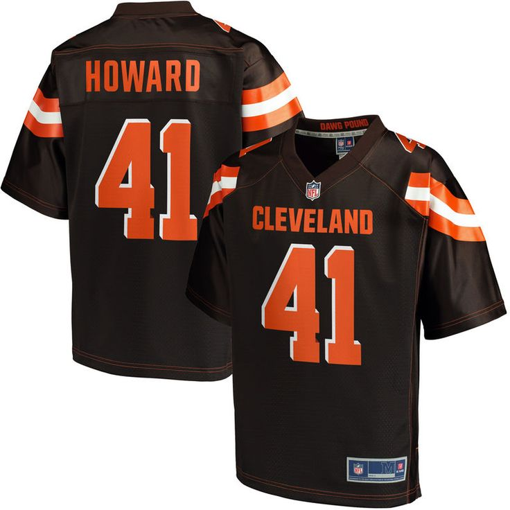 Tracy Howard Cleveland Browns NFL Pro Line Youth Player Jersey - Brown