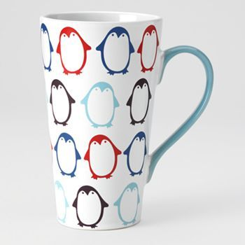 Food Network Penguin Tapered Latte Mug  Finally,  The perfect size  coffee, tea mug! I need one of these!  ,