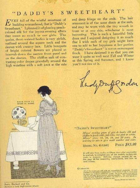 1863-1935 Lucy, Lady Duff-Gordon - the Fashion Spot