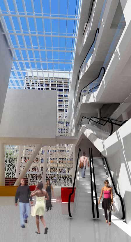 Public Library for Łódź by Maciek Grelewicz - Dezeen