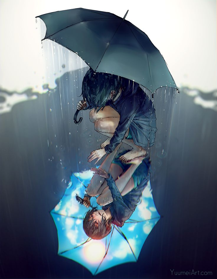 Rain on My Sunshine by yuumei.deviantart.com on @DeviantArt Get better soon, Yuumei!