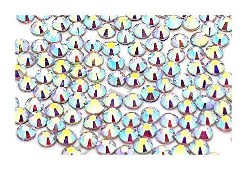 Eimass® DMC, Strasssteine, Glas-Diamanten, Kristalle, Edelsteine, Paket mit 1.440Kristallen, Hotfix, flache Rückseite: Amazon.de: Schuhe & Handtaschen