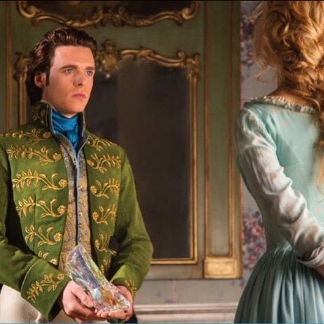 Prince Charming (Richard Madden) ♥♥♥ I fear I will love him after watching Cinderella ;) ♥