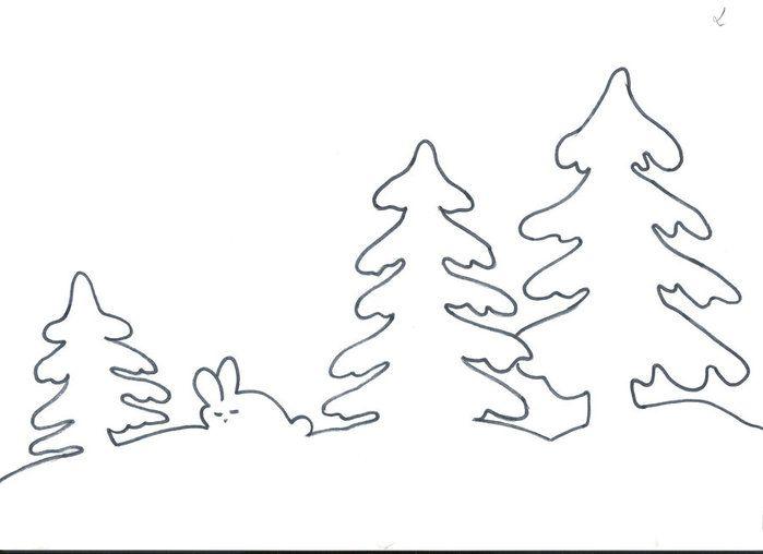 trafarety-iz-bumagi-na-novyi-god-na-oknah. трафареты из бумаги на новый год на окнах.