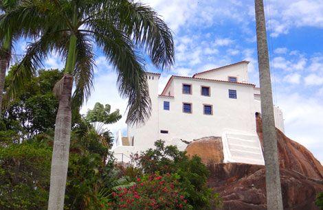 Visita ao Convento da Penha em Vila Velha, Espírito Santo / BRAZIL
