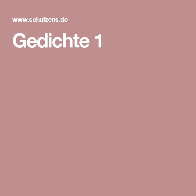 Gedichte für Grundschule - Sprachliches Gestalten