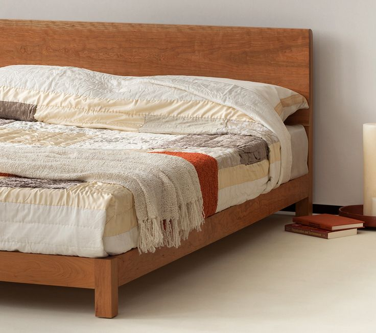 special offer ex display solid cherry wood bed kingsize made in the - Solid Wood Bed Frame