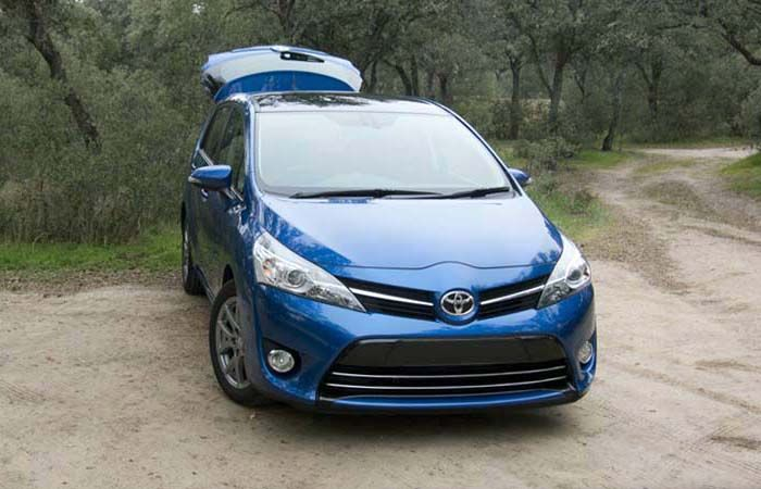 2018 Toyota Verso overview