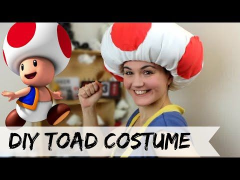 DIY Toad costume (No Sew) - YouTube …