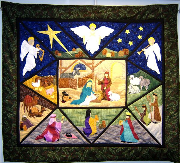 """Christmas Quilts 
